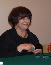 Hanna Krall na spotkaniu autorskim. Fot. Marek Obara
