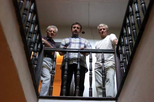 Od lewej: Waldemar Michalski, Bogusław Wróblewski, Bohdan Zadura