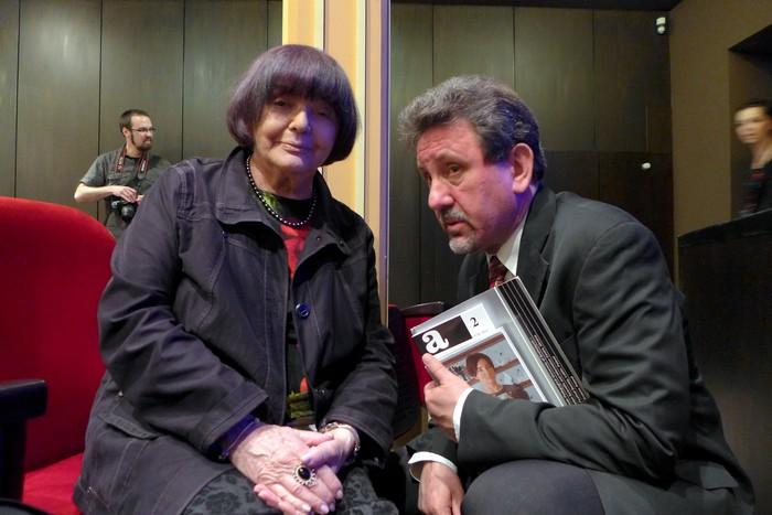 Hanna Krall i Bogusław Wróblewski. Fot. Jarosław Wach
