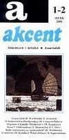 Akcent numer 1-2 (83-84) 2001