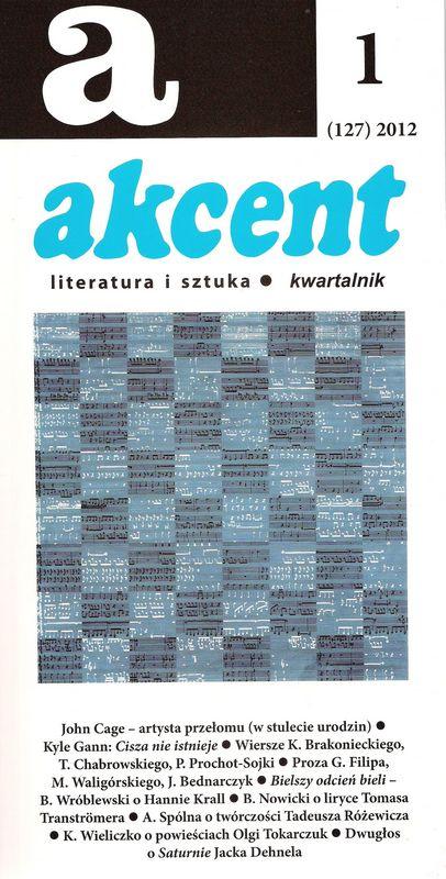 Akcent numer 1 (127) 2012
