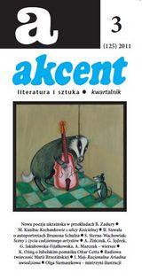 Akcent numer 3 (125) 2011