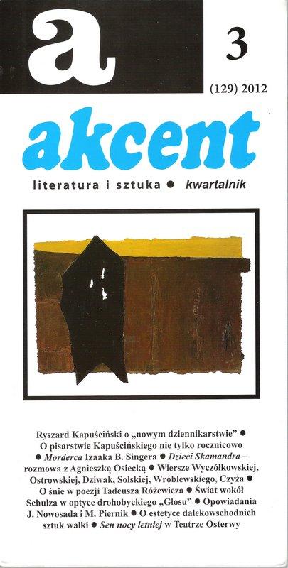 Akcent numer 3 (129) 2012