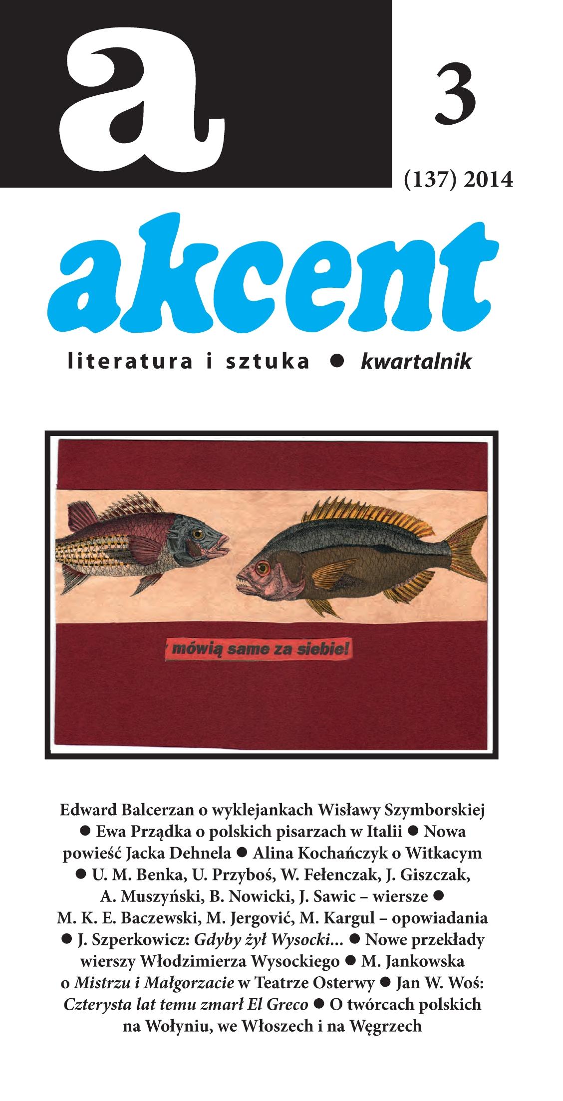 Akcent numer 3 (137) 2014