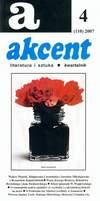 Akcent numer 4 (110) 2007
