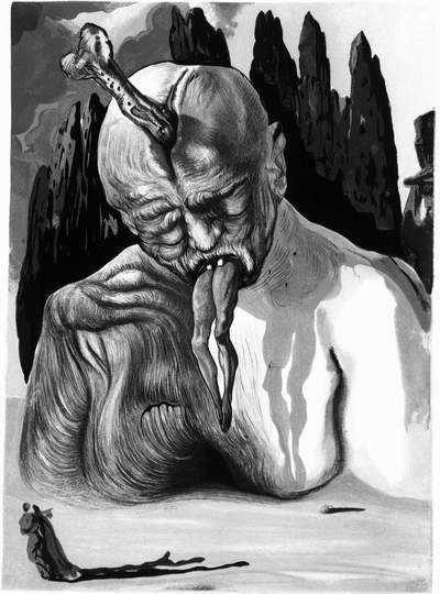 Salvador Dali, Logiczny diabeł - Piekło, pieśń XXVII