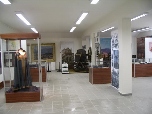 Fragment ekspozycji stałej w Muzeum Węgierskiej Polonii w Budapeszcie