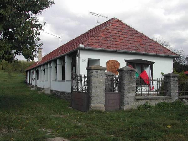 Wiejski budynek w Andrastanya (Dolna Drenka) filii Muzeum Węgierskiej Polonii