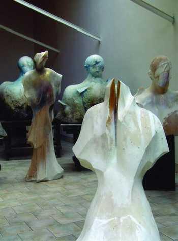 Pracownia Adama Myjaka w Zalesiu, 2005r.
