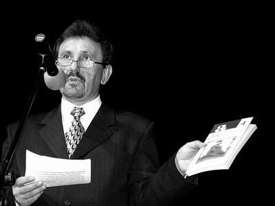 Dr Bogusław Wróblewski w trakcie wstępnej wypowiedzi. Fot. J. Kutnik