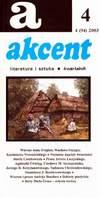 Akcent numer 4 (94) 2003