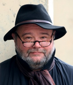 Pawel Huelle. Fot. Iwona Burdzanowska, Lublin 2011 r.