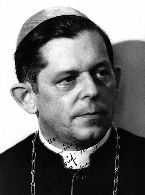 Kard. Józef Glemp, Prymas Polski. Zdjęcie z dedykacją dla autora, Warszawa, 2 IX 1981 r.