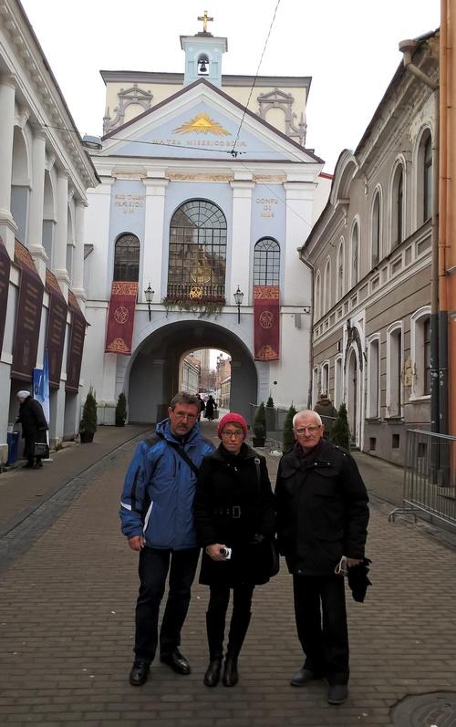 Od lewej: Bogusław Wróblewski, Anna Goławska, Waldemar Michalski. Fot. łukasz Janicki