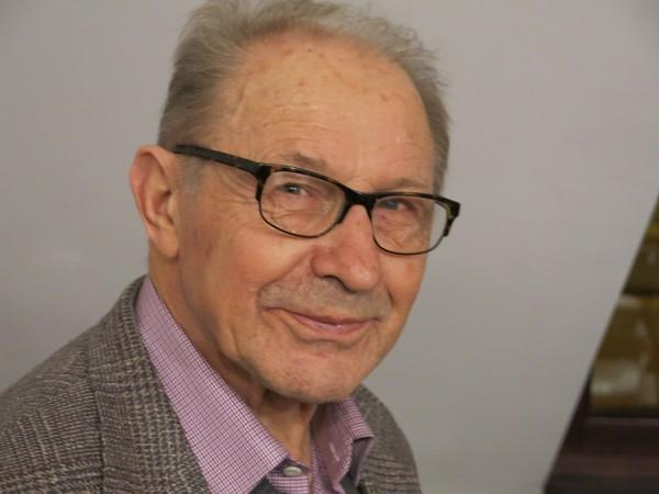 Tadeusz Chabrowski - portret w red. Akcentu, Lublin 2016, fot. Bogusław Wróblewski