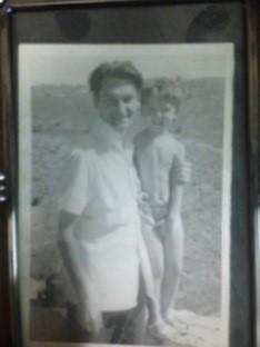 Jerzy Kujawski z córką