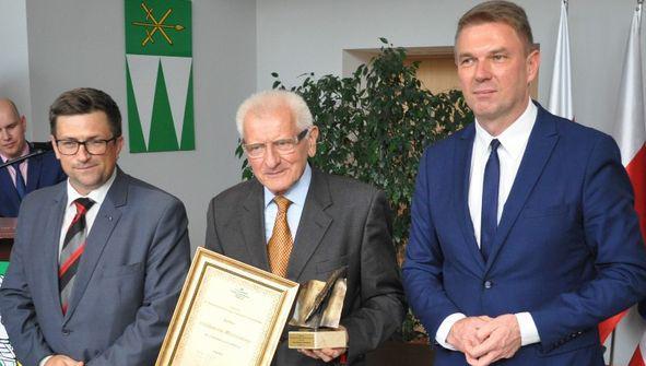 WaldemarMichalski - laureat Nagrody III Miedzynarodowego Trójstyku Literackiego