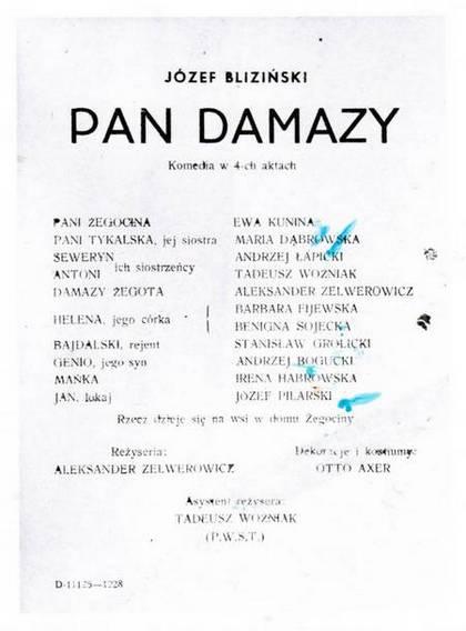 """""""Pan Damazy"""""""